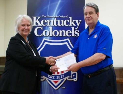 Kentucky Colonels awards grant to JSF